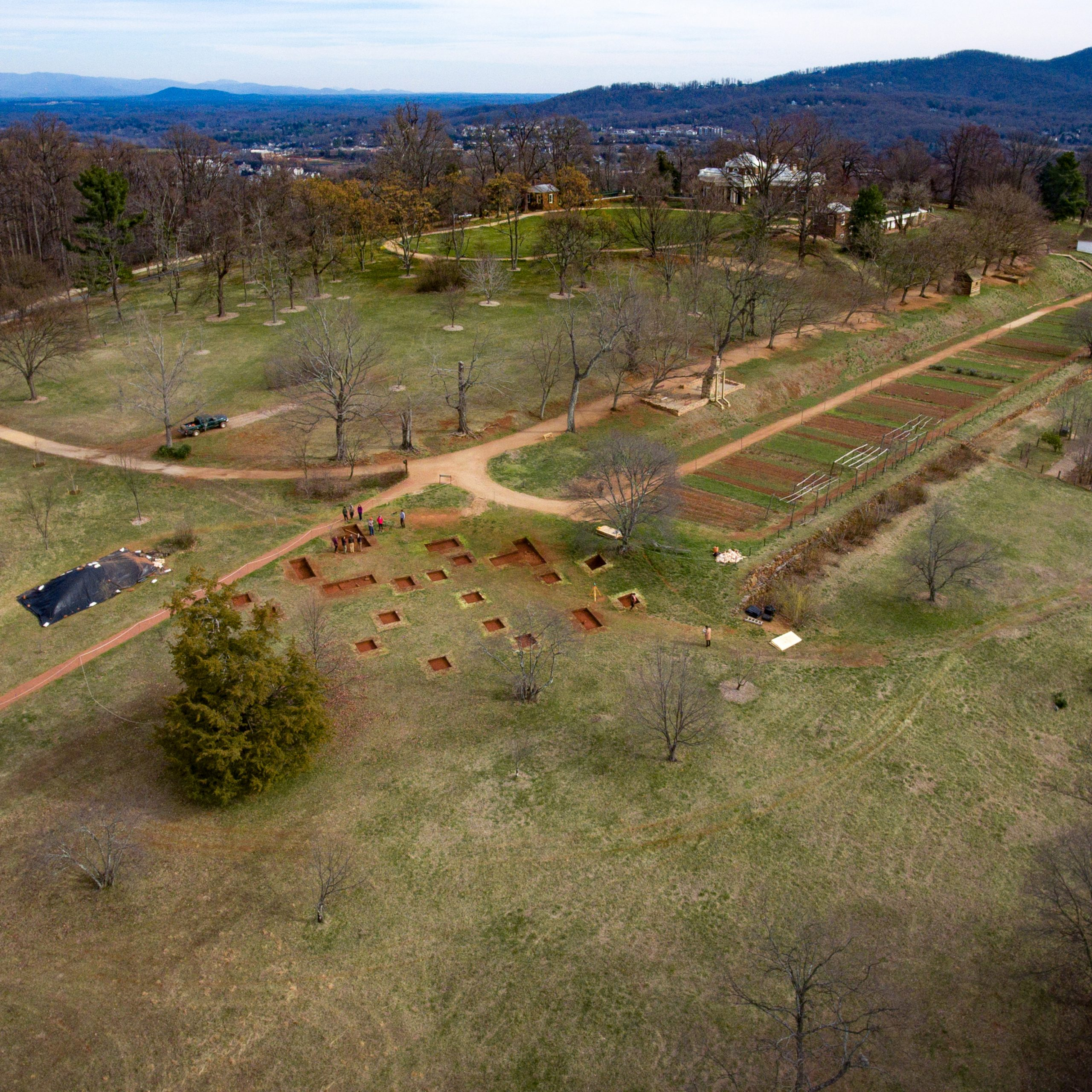 excavations at monticello